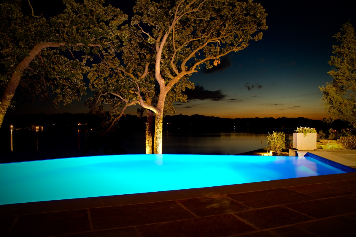 Led Lighting Options For Concrete Pools 187 P Amp B Pools